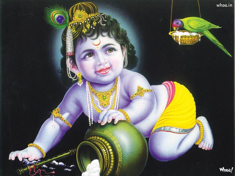 Bal Krishna 50 Lord Bal Krishna Wallpaper