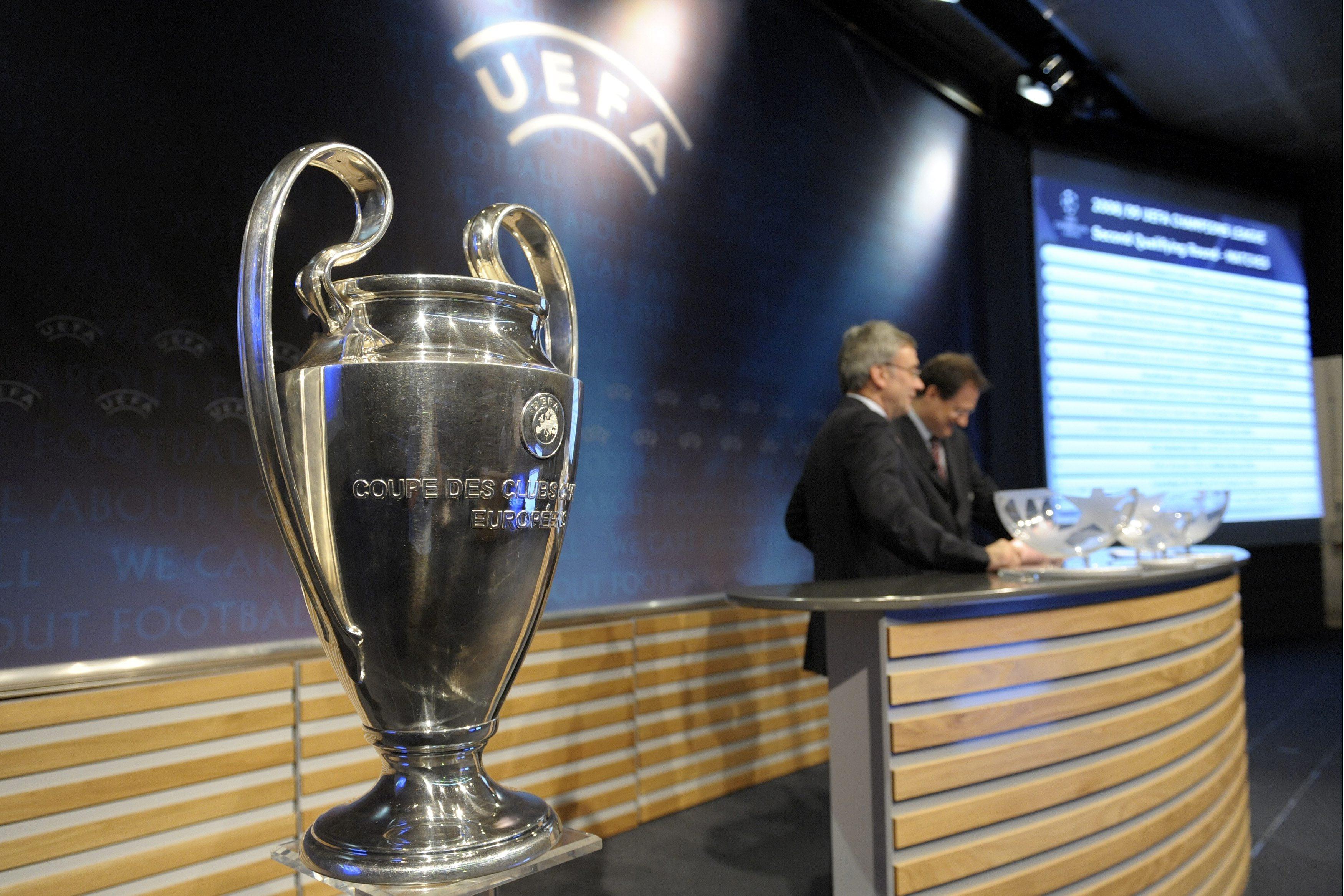 Champs league draw