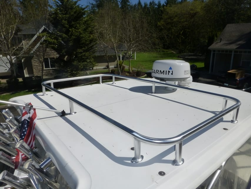 Hard Top Storage Rack A1