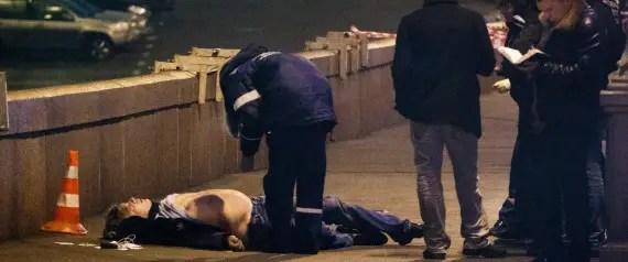 Russian Opposition Leader Boris Nemtsov Shot Dead In Moscow 1