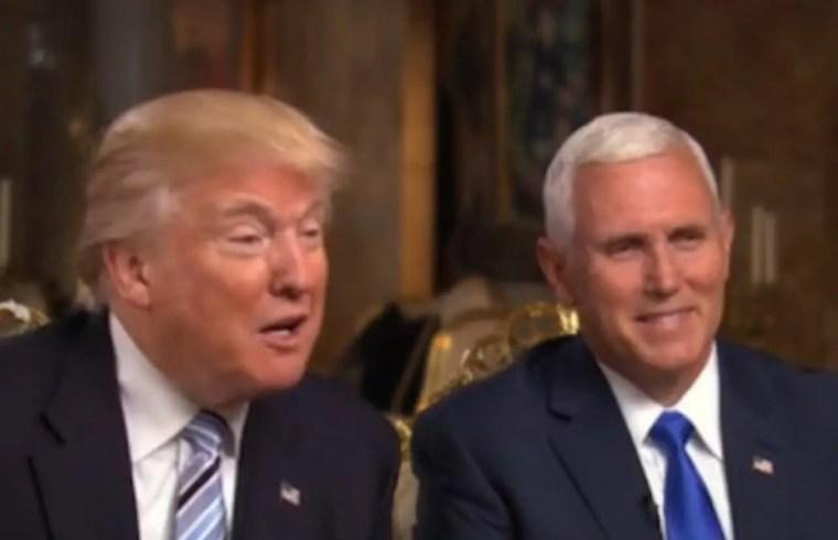 Trump: Pence's Iraq War Vote Fine, Hillary's BAD! 1