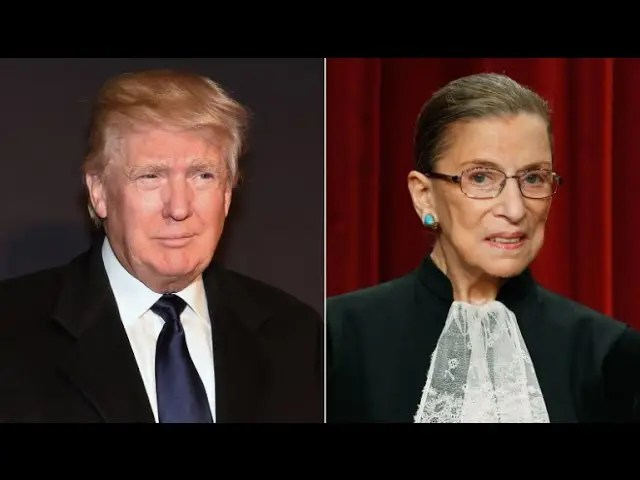 Republicans Respond To Trump Attacks From Supreme Court Justice 1