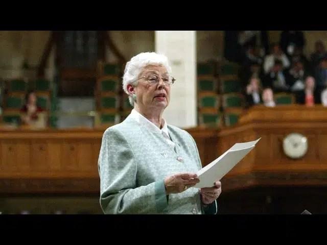 'Practical politician:' Former N.B. MP Elsie Wayne dead 1