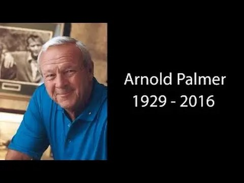 Arnold Palmer Dead At Age 87! Arnold Palmer Tribute Video 1