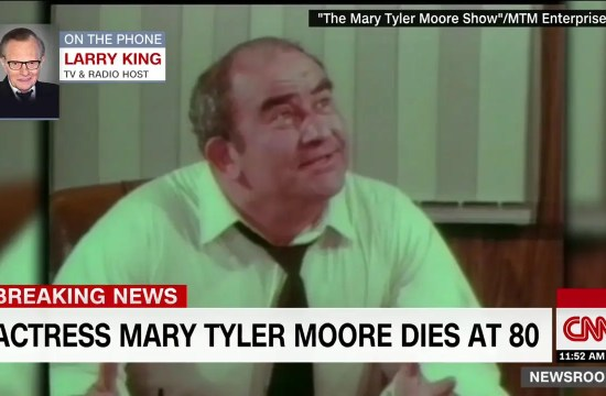 Larry King׃ Mary Tyler Moore was a pioneer 23