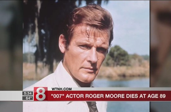 '007' actor Roger Moore dies at 89 13