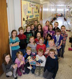 Students at Dewitt Carter Public School