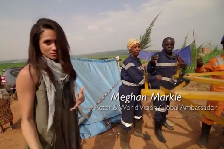 Meghan Markle makes a difference - World Vision