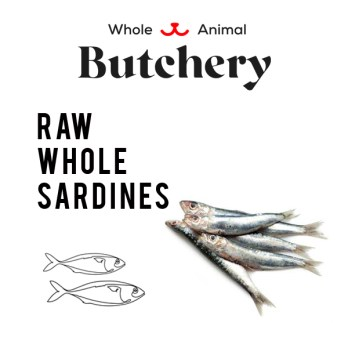 Wild-caught Sardines (Frozen)