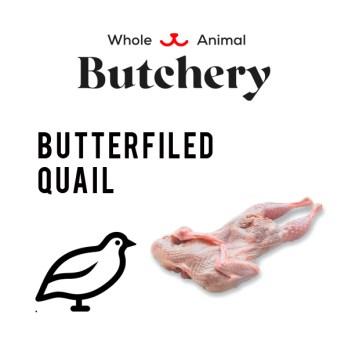 Butterflied Quail