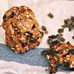 Pecan Dark Choc Chunk Oatmeal Cookies