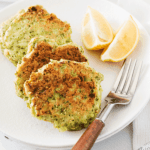 Feta and Broccoli Fritters