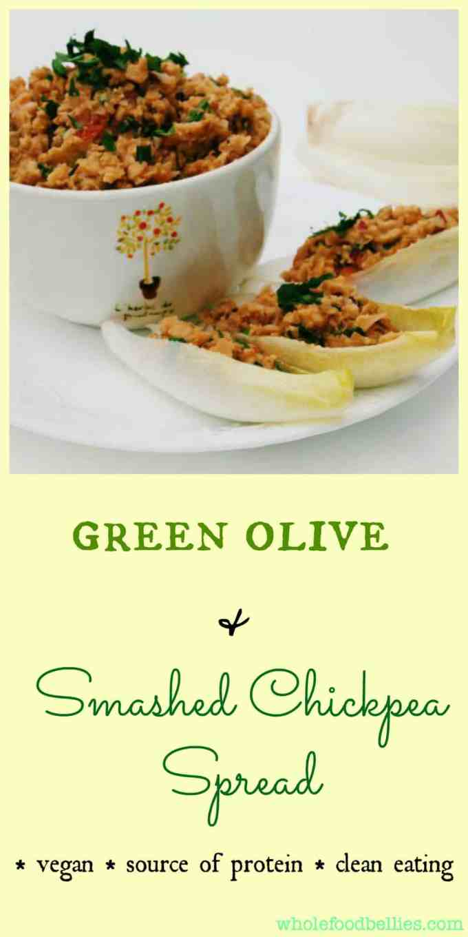 Green Olive and Smashed Chickpea is perfect for sandwiches, wraps, or stuffing into a lettuce leaf for a wholly satisfying, protein and flavour filled lunch