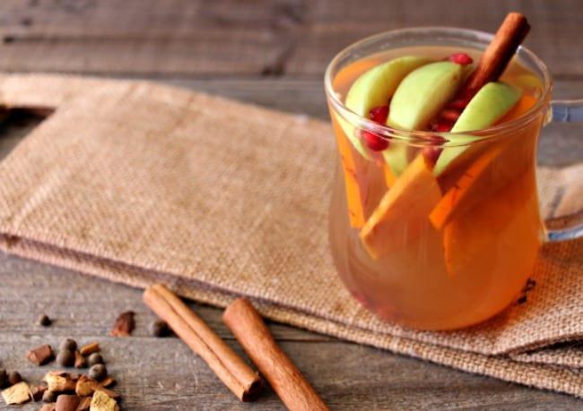 Fall Harvest Hot Apple Cider