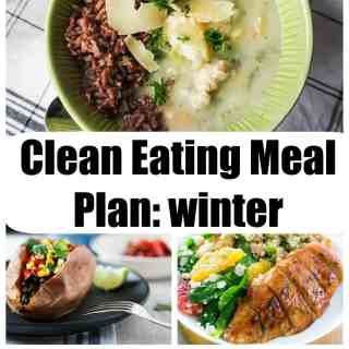 Clean Eating Meal Plan: Winter Weeknights #2