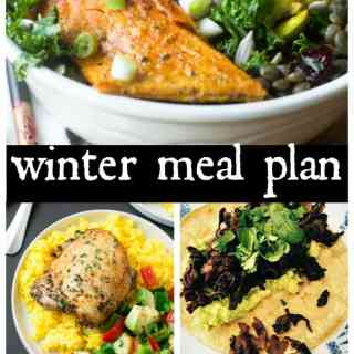 Clean Eating Meal Plan Winter Weeknights Number 3