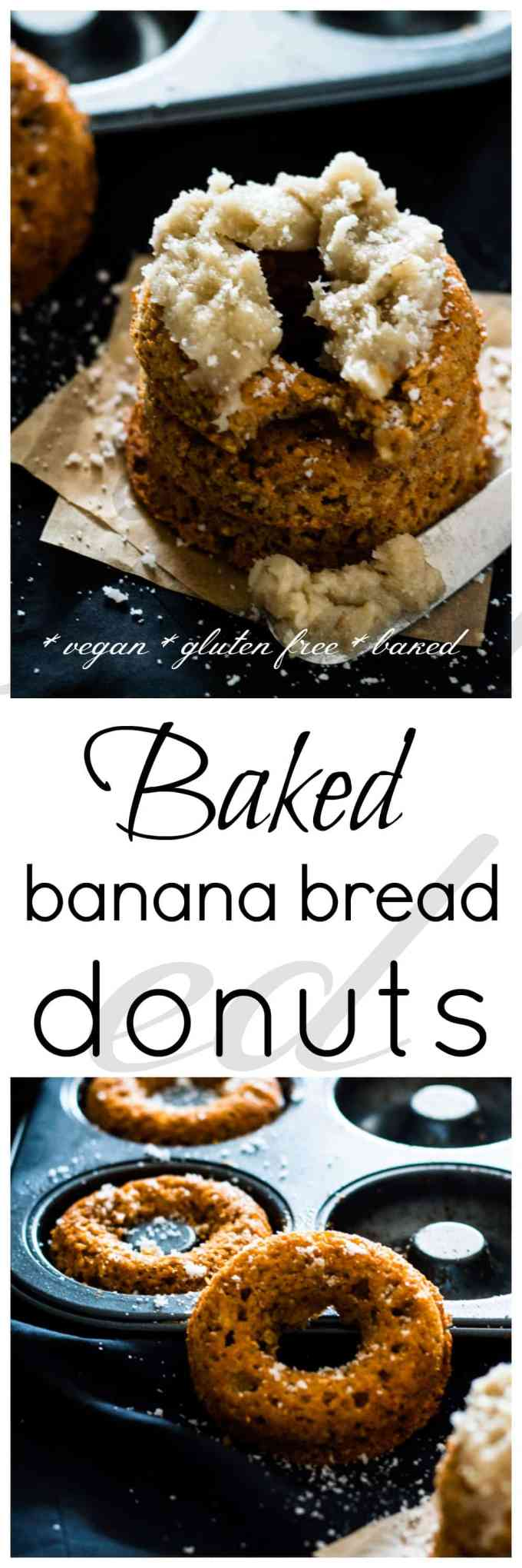 These baked banana breakfast doughnuts will fill up your hungry belly and leave you feeling ready to take on the day. The perfect grab-and-go breakfast, or top with some banana frosting and pair with a cup of tea for a delicious afternoon snack
