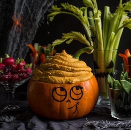 Healthy Halloween Treats: Pumpkin Dip