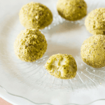 White Chocolate Pistachio Truffles
