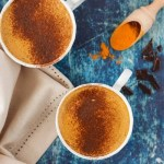 Turmeric Infused Healthy Hot Chocolate