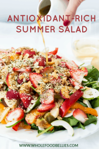 Strawberry Spinach Pecan Salad