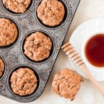 Oatmeal Sweet Potato Banana and Date Muffins