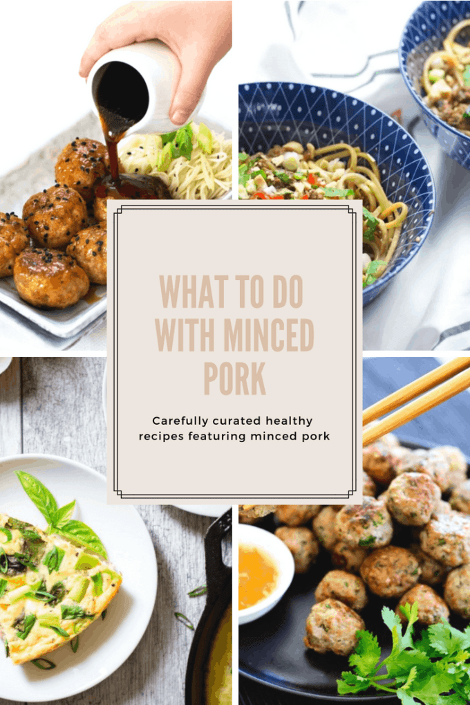 If you have ever looked in the fridge or freezer and wondered what to do with pork mince, then this post is for you. I have curated a stunning collection of healthier pork mince recipes for you to ponder and fill out your meal plans with.