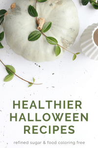 healthy halloween treats for the whole family