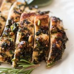 Crusted Sage and Macadamia Nut Chicken Breasts