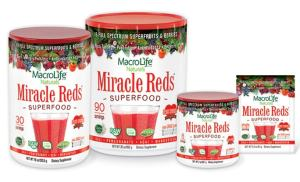 miracle reds for heart health month