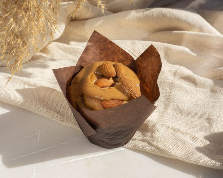 Coconut Almond Nut and Banana Breakfast Muffin