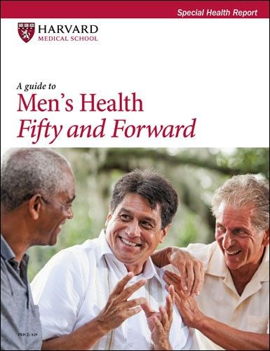 A Guide to Men's Health Fifty and Forward Harvard