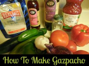 Summer Isn't Complete If You Don't Make Gazpacho Atleast Once!