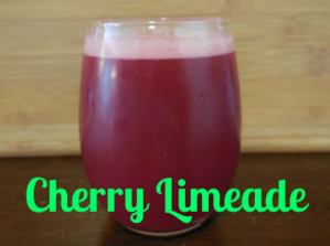 This Cherry Limeade Will Rock Your Taste Buds!