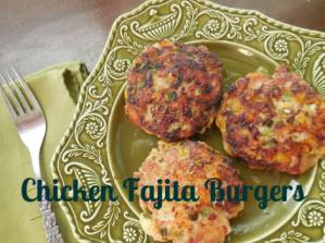 Chicken Fajita Burger Recipe: Paleo Friendly