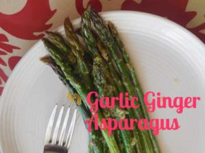 How To Make Ginger Roasted Asparagus