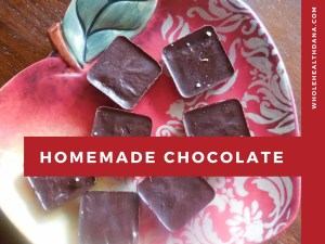 Make Homemade Paleo Chocolate