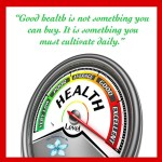 Health is the one thing you cannot buy But youhellip