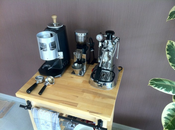 My Mazzer, Nemox Lux and La Pavoni Professional