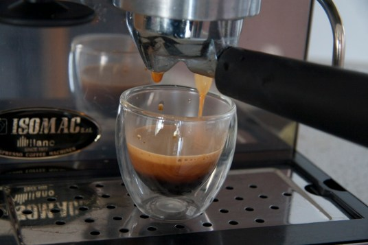 and great crema all the way to the end