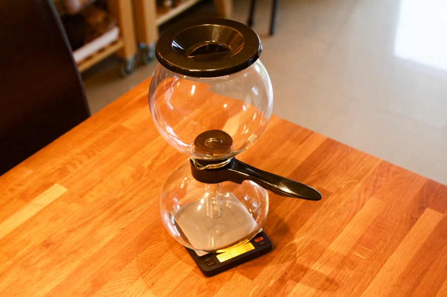 Brewista Smart Scale - Bodum Pebo Syphon