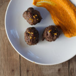Orange Tarragon Lamb Meatballs & Carrot Mash