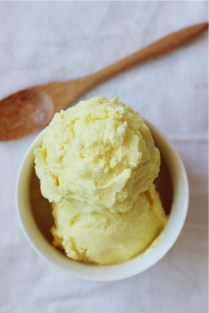 Pineapple Turmeric Ice Cream