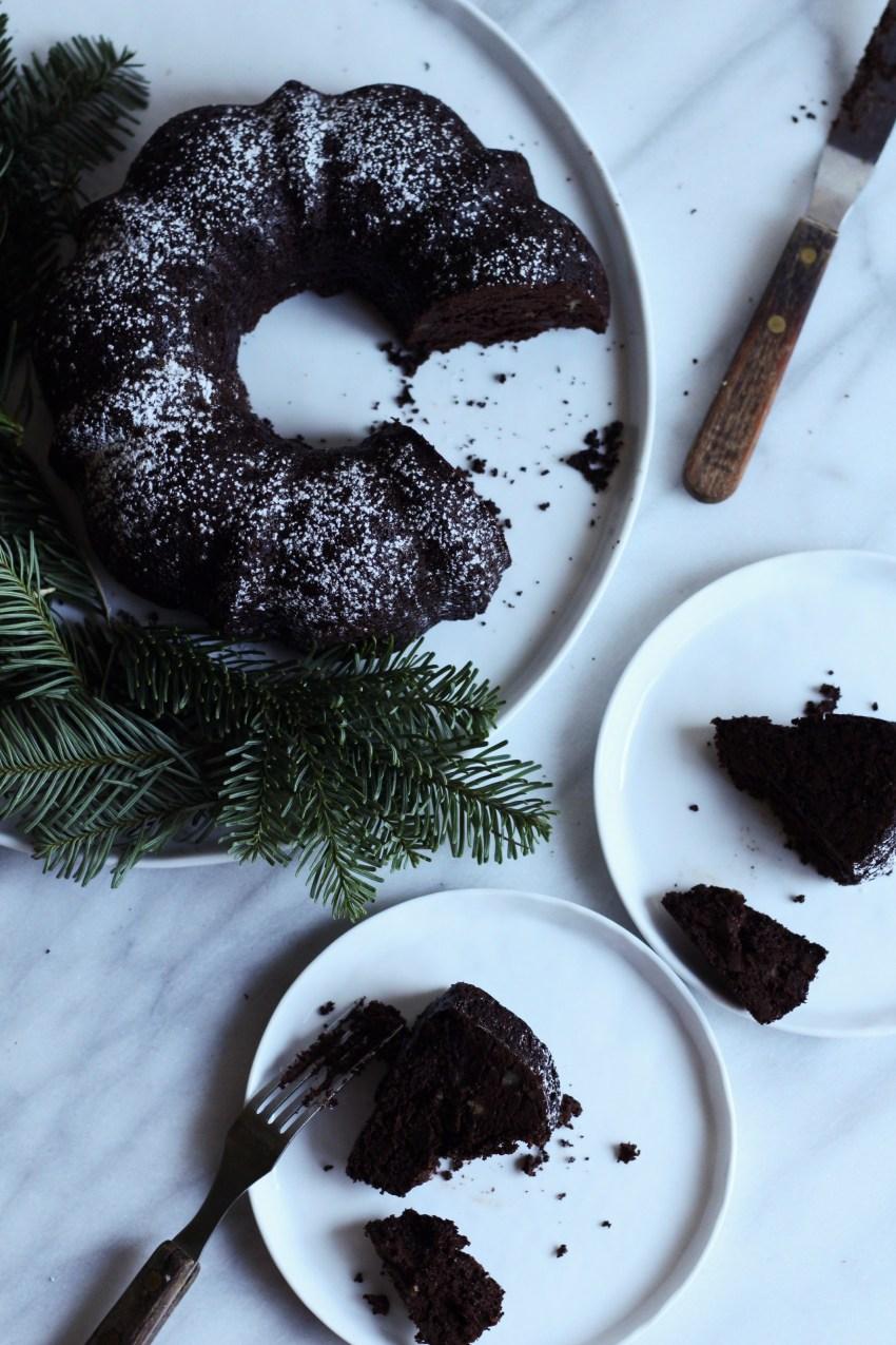Christmas Cake {Paleo/Gluten Free}