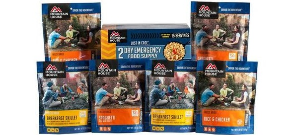Free Sample of Rainy Day Emergency Freeze Dried Meal |
