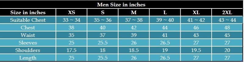 Men Fashion Jacket Size Inches Leather Jacket