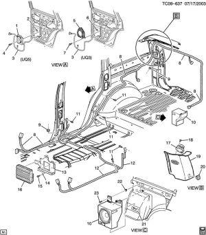 15766432  GM Speaker Radio auxiliary speakers Subwoofer, enclosure | Wholesale GM Parts Online,