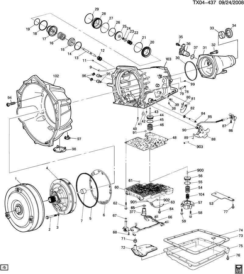 4l60e Transmission Solenoid Diagram