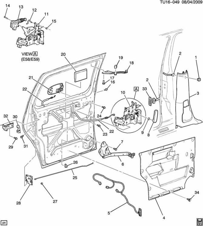 🏆 diagram in pictures database 2004 chevy cavalier door