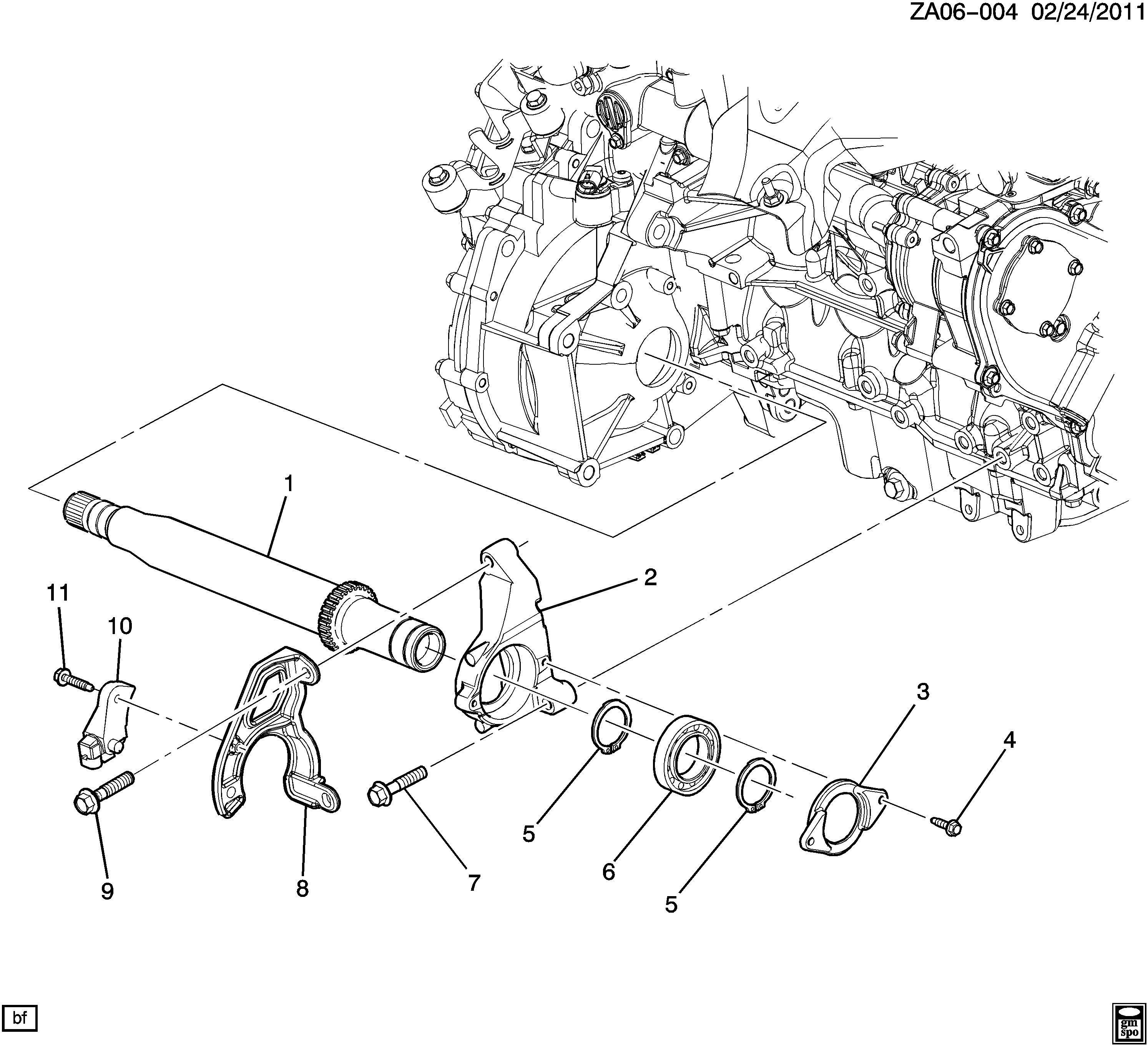 Saturn Ion Bracket Front Wheel Drive Axle Shaft